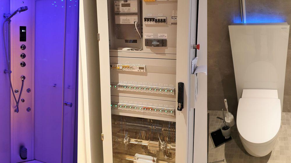 Smarte apparater med noe mer avansert strømforsyning enn i vanlige hjem.
