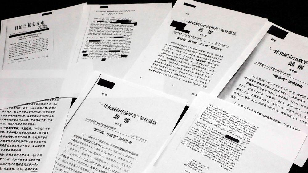 Nye lekkede regjeringsdokumenter fra Kina viser omfattende menneskerettighetsbrudd mot landets muslimske minoritet i interneringsleirene i Xinjiang.
