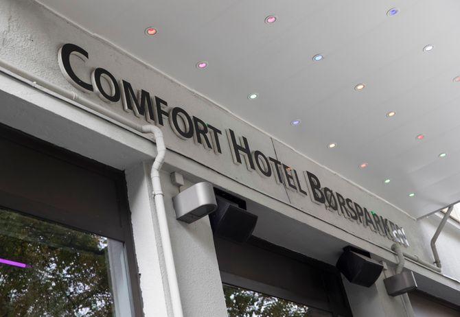 Comfort Hotel Børsparken i Oslo i 2015.