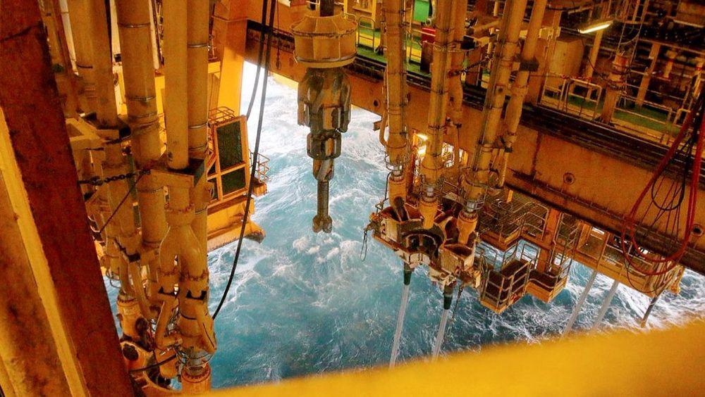 Det blir ikke lenger mulig å studere petroleumsfag ved Universitetet i Bergen. Bildet viser oljeboring på Johan Sverdrup-feltet i Nordsjøen.