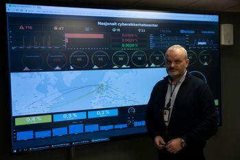 Lasse Rosenvinge er seksjonssjef avdeling for deteksjon i Nasjonal sikkerhetsmyndighet (NSM).