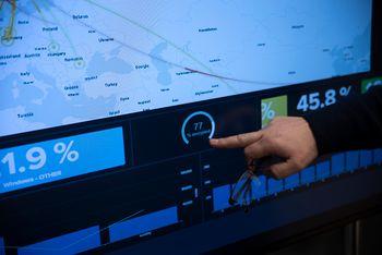 75-80 prosent av all trafikk på internett går i dag kryptert. Det fremgår her fra NCSC sitt eget dashboard.