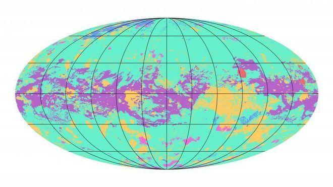 Her er det første geologiske kartet over Titan
