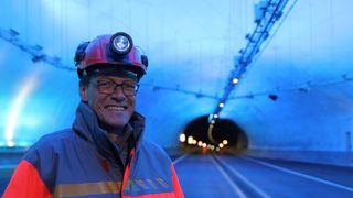 Tunnelprosjektet vant kampen mot vannmassene: Snart åpner den 9,4 km lange Mælefjelltunnelen