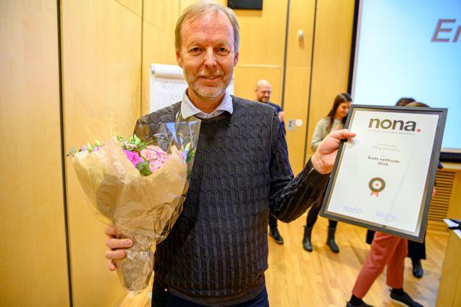 Erling Brøndmo ble årets netthode under NONA19.