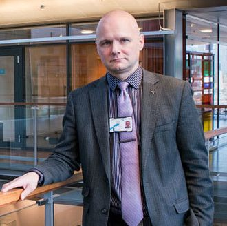 Rolv R. Hauge, ansvarlig for telekom-sikkerhet i Telenor Norge.