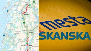 Mesta mistet E6-kontrakt med Skanska – som føler seg lurt. Nå møtes de i retten