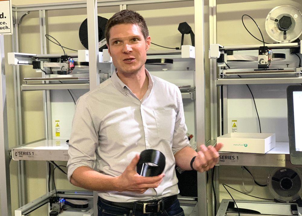 Norske Espen Sivertsen er administrerende direktør i det California-baserte selskapet Ivaldi.