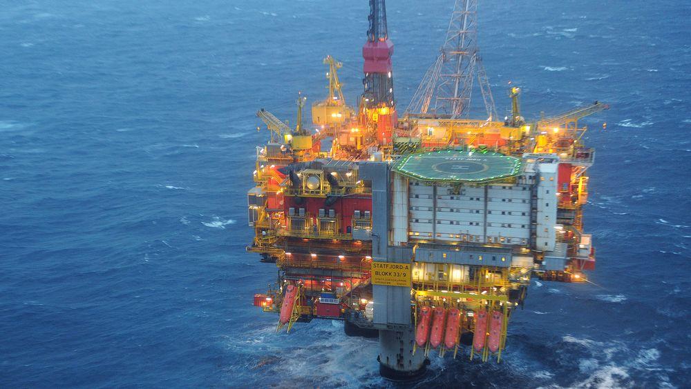 Ptil gransker en oljelekkasje fra Statfjord A i november.