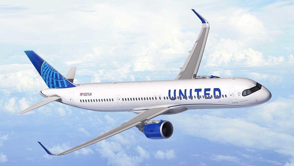 Om fem år er dette flytypen som skal erstatte Boeing 757-200 hos United Airlines.