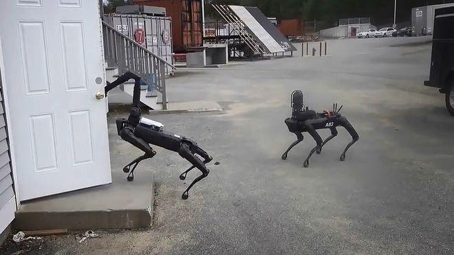 Amerikansk politi setter inn robothunden Spot