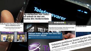 En rekke danske og svenske medier følger nå opp avsløringene. Faksimiler fra Version2, Ny Teknik, Ekstrabladet, Ritzau, digi.no.