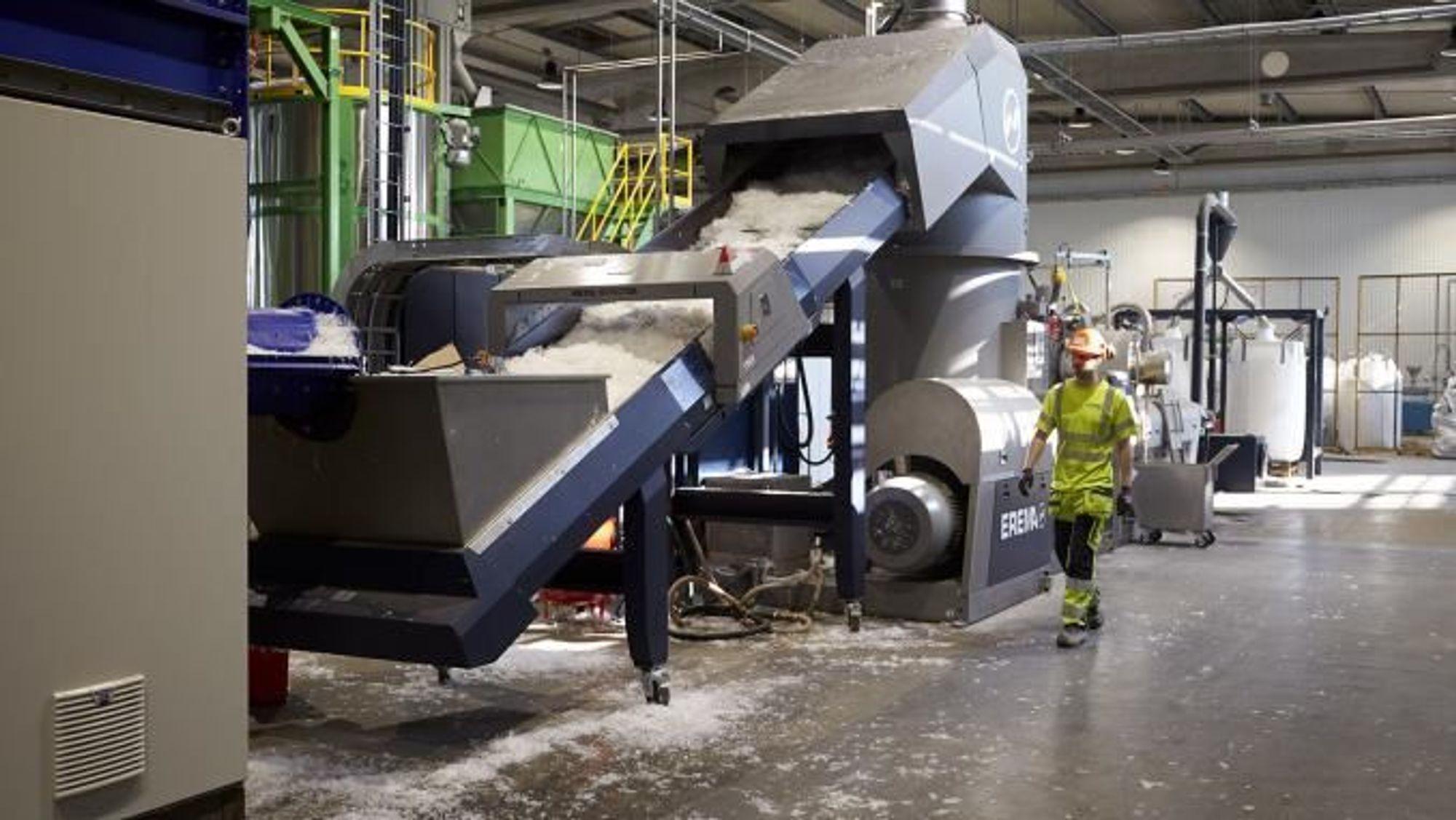 Store investeringer har gjort det mulig å sortere ut selv vanskelig materiale som myk plast og plastfolie ved gjenbruksbedriften Stena Recycling.