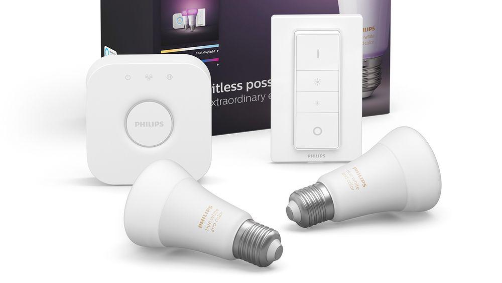 Luke 16: I dag har du muligheten til å vinne et startsett for smart belysning