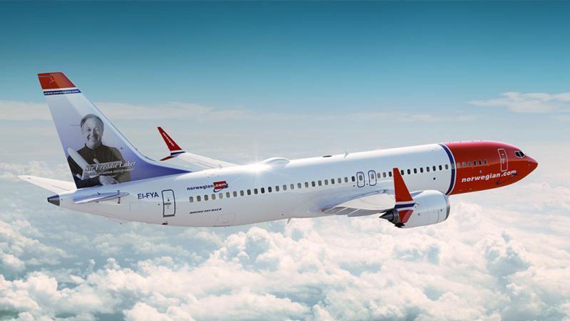 Norwegian er et av selskapene som noen ganger flyr rundt med langt mer vekt enn nødvendig.
