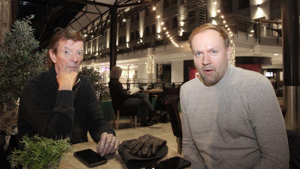 F.v. Svein Reppe og Håvard Wollan er to av oppfinnerne bak Big Dipper.