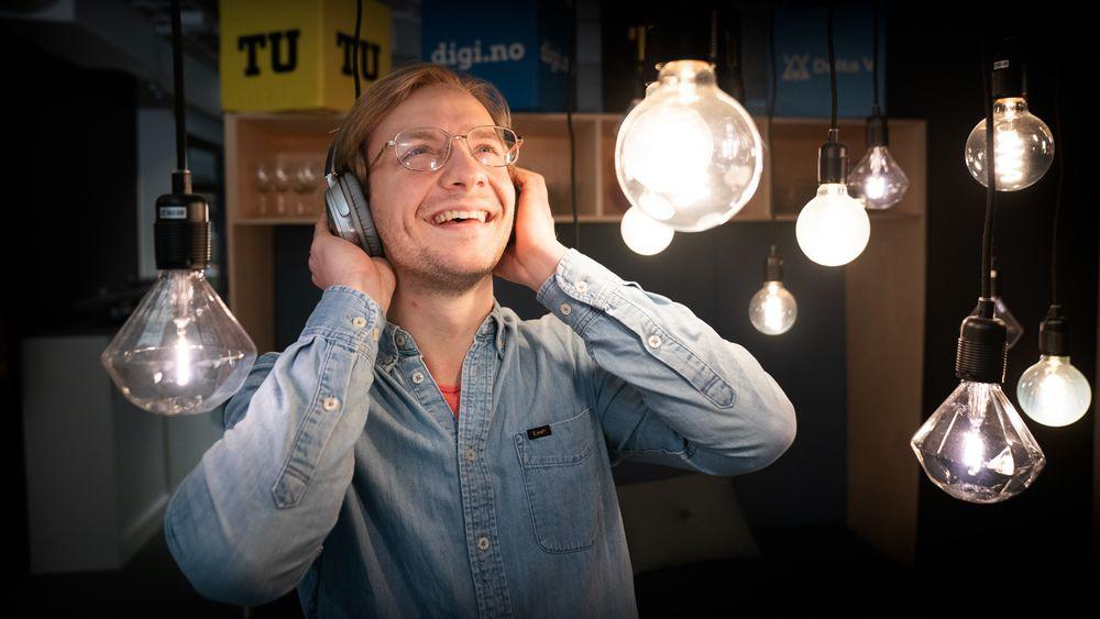Selverklært podcastnisse Sebastian Storvik.
