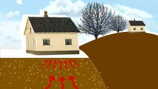 Målinger avslører: Selv nye hus kan ha for mye radon