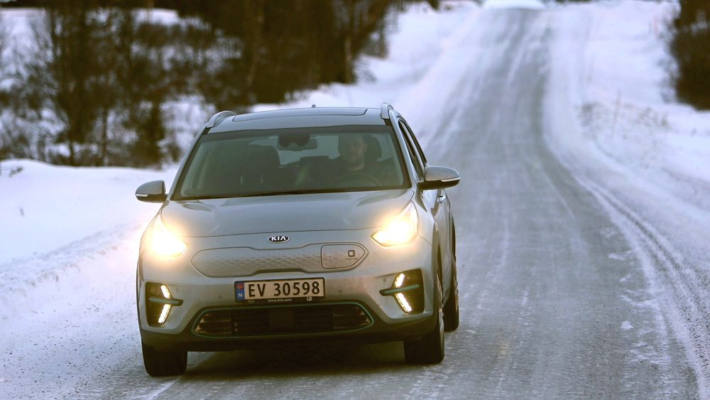 Vi testet Kia e-Niro i januar. Nå økes produksjonen av bilen.
