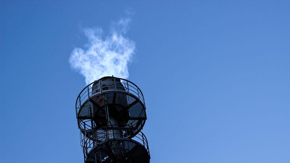 Skal blir mye energi:  All CO-gassen som fakles av i dag på Eramets smelteverk i dag skal drive seks, syv kjempesvære industrimotorer som skal produsere strøm og varme.