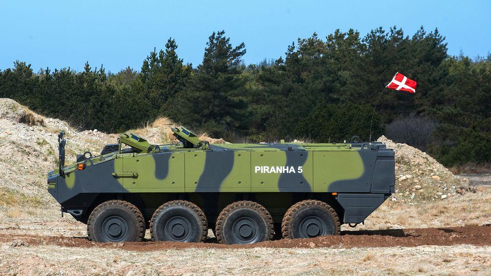 Danmark skal integrere Protector RWS på Mowag Piranha V.