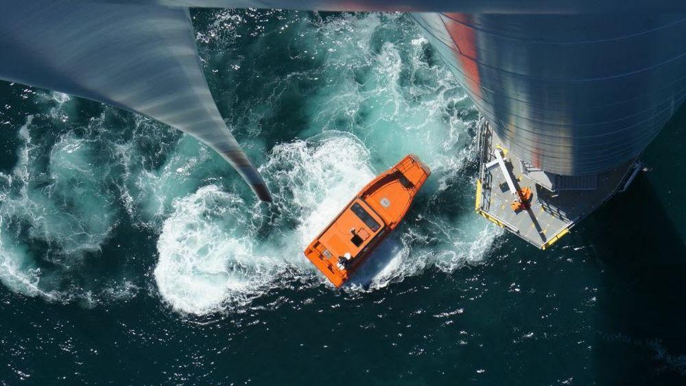 En Prozero-båt på oppdrag for havvindnæringen. Tuco og Artemis vil nå montere hydrofoil og elektrisk framdrift på en av båtene av denne typen.