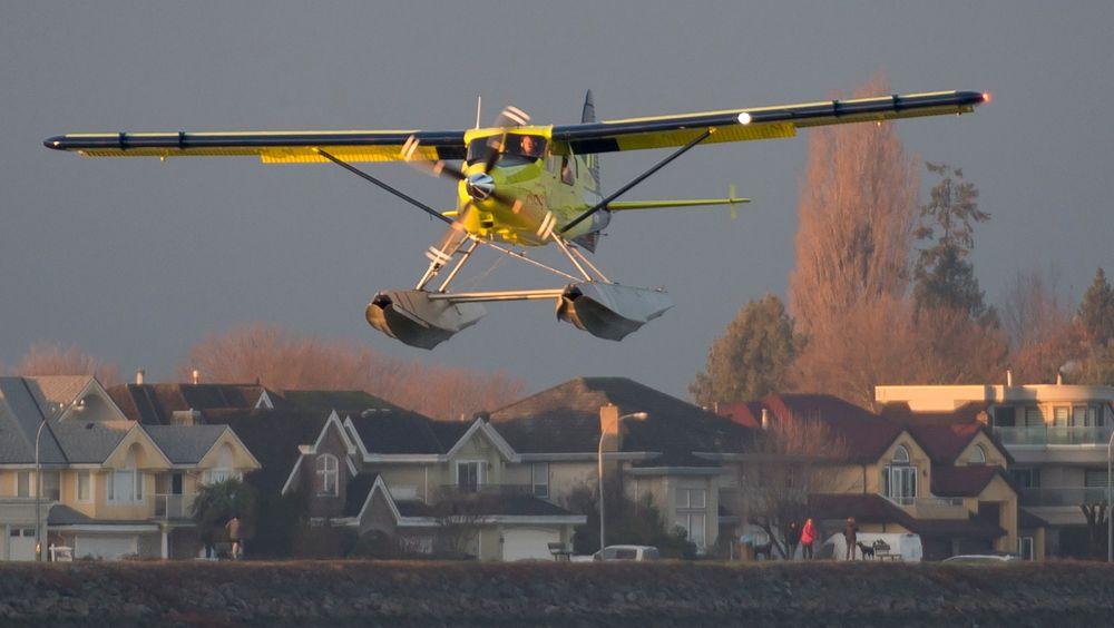Jomfruferden med det elektriske DHC-2-flyet gikk i Canada tirsdag 10. desember.