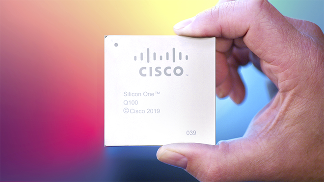 Cisco Silicon One Q100-brikken.
