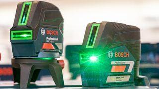 Laserverktøy har utkonkurrert både vateret og meterstokken