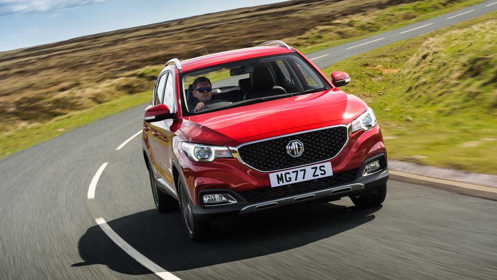 MG ZS skal leveres i fem ulike farger og to forskjellige utstyrsmodeller fra januar 2020.
