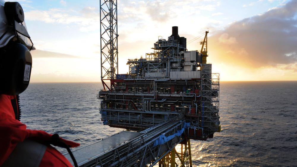 EU vil dekarbonisere hele økonomien, og kan takke nei til norsk gass før 2050. Her fra Osebergfeltet i Nordsjøen
