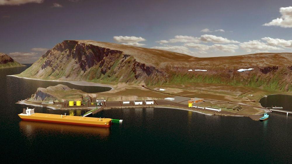 Veidnes i Nordkapp skulle bli stedet for ilandføring av Johan Castberg-oljen. Nå melder Equinor at planene om terminal her skrinlegges.
