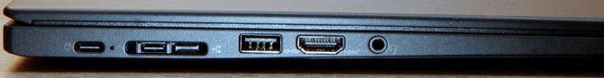 Begge PC-ene har ganske gode tilkoblingsmuligheter, og lades via USB-C.