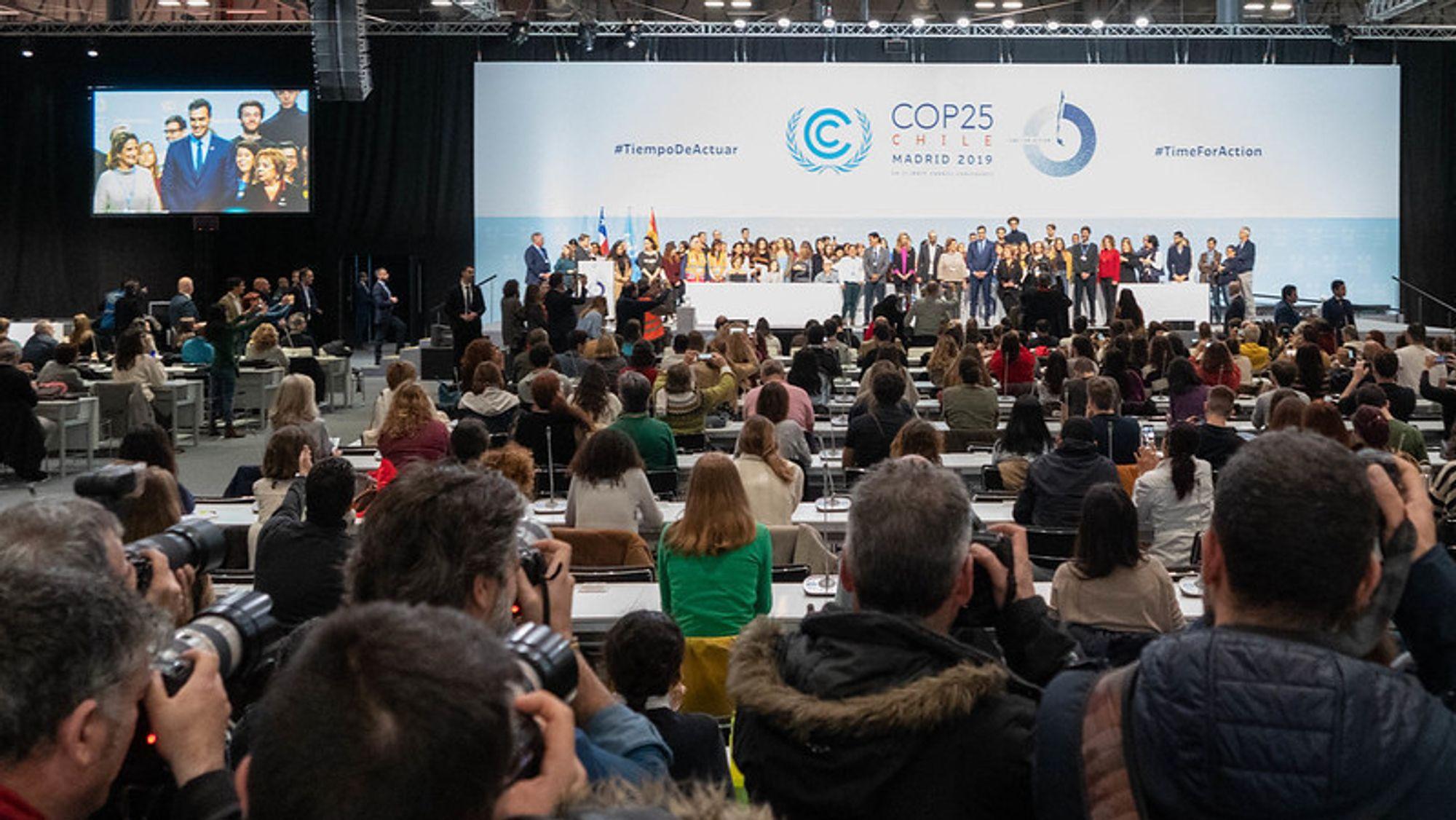 FNs klimaforhandlinger vil pågå til ut i helgen.