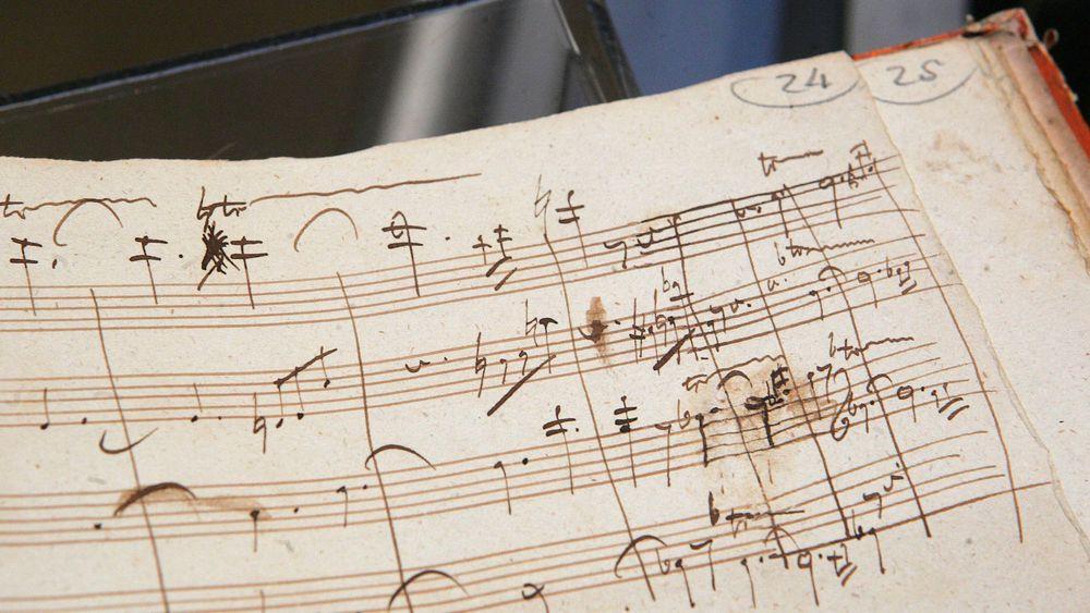 Helt til sine siste dager var Beethoven opptatt med å skape nye verker. Flere verker ble aldri ble ferdige.