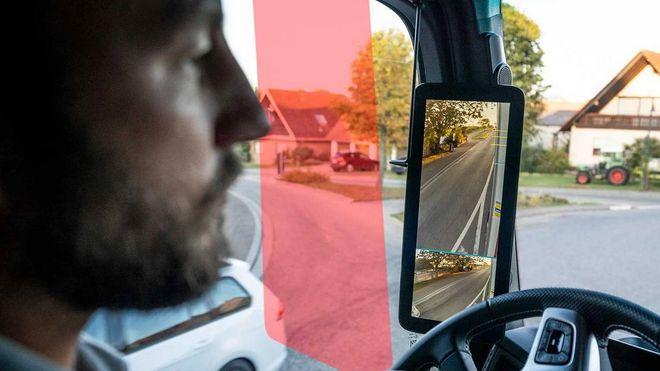 Daimler lanserer digitale sidespeil