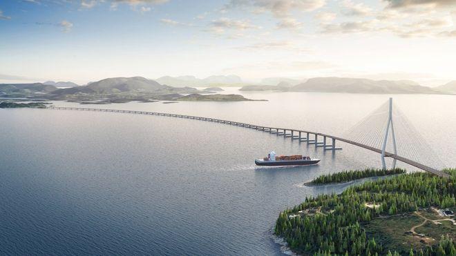 Prislappen for ferjefri E39 fra Kristiansand til Trondheim lå per august i fjor på 382 milliarder kroner.