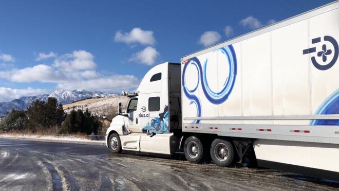 Selvkjørende lastebil kjørte 450 mil uten at noen la én hånd på rattet