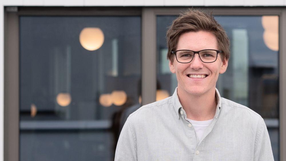Patrick Skjennum (29) var med på å grunnlegge oppstarten Strise, som i dag har flere store banker på kundelisten.
