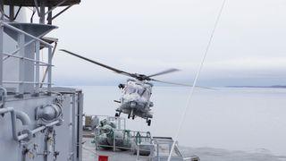 Problemhelikoptrene NH90 blir millionbutikk for Kongsberg
