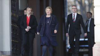 Olje- og energiminister Listhaug er motstander av havvind og «hvite monstre»