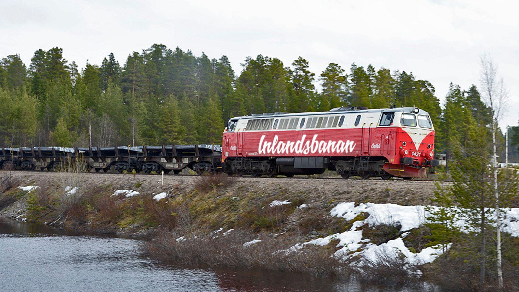 Et av Inlandsbanens TMZ-lokomotiver, som kan være aktuelle for konvertering til hydrogendrift.
