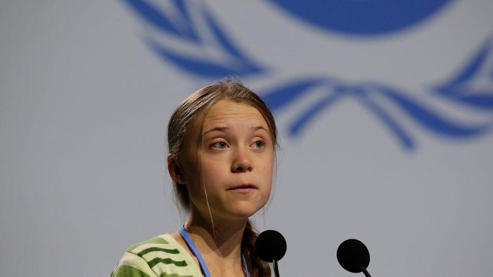 Årets navn: Svenske Greta Thunberg som fyller 17 år i januar, ble av Time Magazine kåret til «Årets person» under klimatoppmøtet i Madrid.
