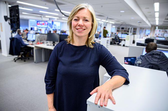 Trine Eilertsen er ny sjefredaktør i Aftenposten.