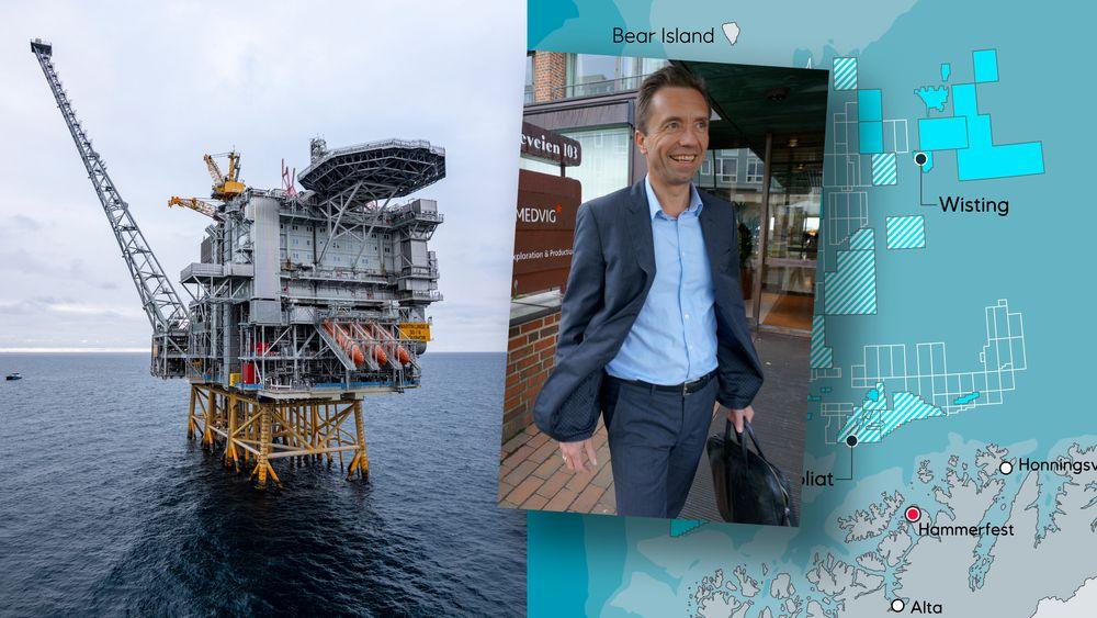 Tore Guldbrandsøy leder Stavanger-kontoret til Rystad Energy. Martin Linge og Wisting er prosjekter han er spent på i 2020.