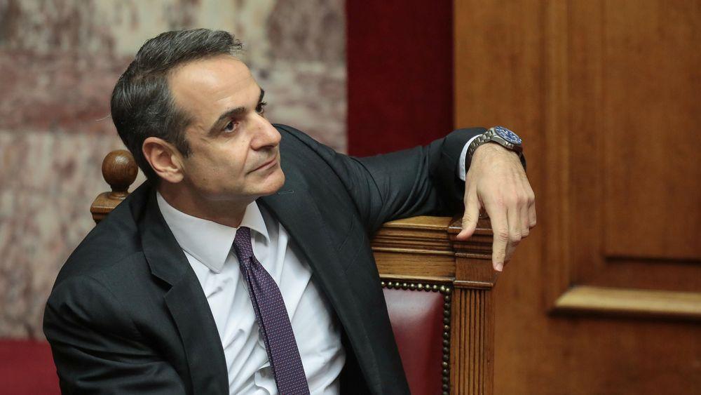 Hellas' statsminister Kyriakos Mitsotakis har annonsert de felles gassplanene til Israel, Kypros og Hellas.