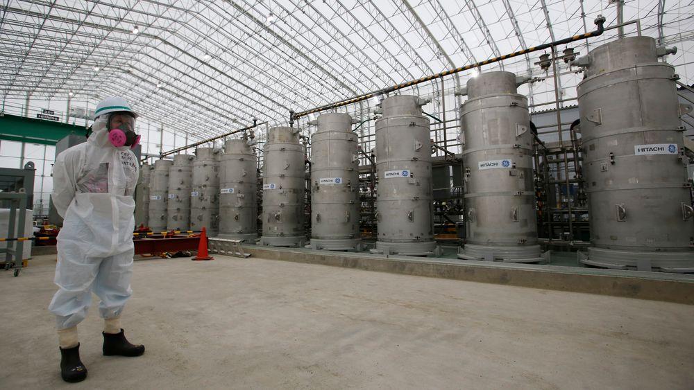 Japan vurderer å slippe 1 million tonn radioaktivt vann fra Fukushima-atomkraftverket ut i naturen.