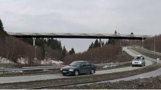 30 meter høy gang- og sykkelbru skal binde sammen bydeler i Trondheim