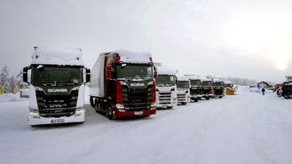Scania Winter for 10. gang