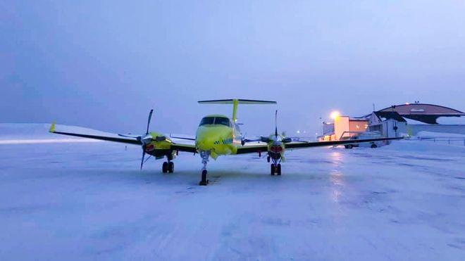 Feil på ambulansefly tvang pilot til å avbryte oppdrag